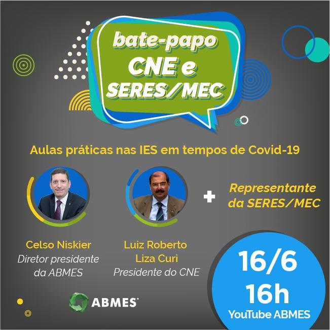SANTOS JR EDIÇÃO 343: Bate Papo CNE e Seres/MEC