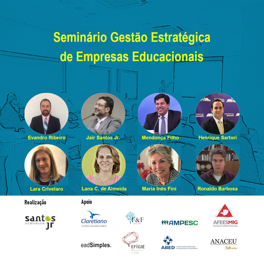 SANTOS JR EDIÇÃO 343: Seminário Gestão Estratégica de Empresas Educacionais